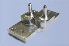 Сольвентный переходник металлический с фильтром к печатающей головке для Mimaki JV3/JV4/JV22